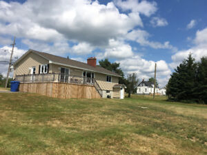 Water front house for rent in miramichi