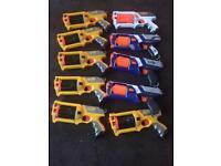 Nerf guns lot 1 / nerf guns + bullets / nerf toys