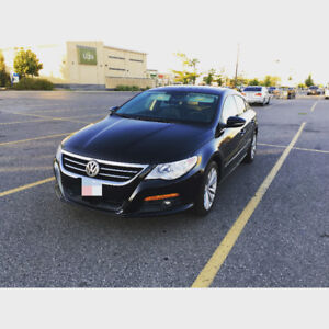 2009 Volkswagen CC Sedan with GPS Back-up camera Sun roof