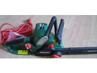 2017 Qualcast 2000 watt Electric Chain Saw - Used But As New- 35 Pounds