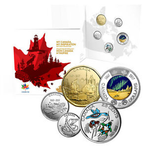 2017 Canada 150 5-Coin Collection