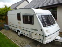 ABBEY COUNTY DORSET CARAVAN, 2 BERTH, EXCELLENT CONDITION IN AND OUT