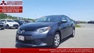 2016 Toyota Corolla LE - brand new for so little!