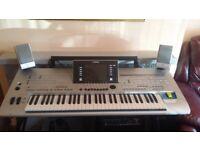 Yamaha tyros 4 keyboard for sale