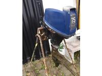Honda outboard spares or possible repair