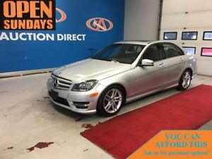 2013 Mercedes-Benz C-Class 300 4MATIC SUNROOF! ONLY 19058KM!FINA