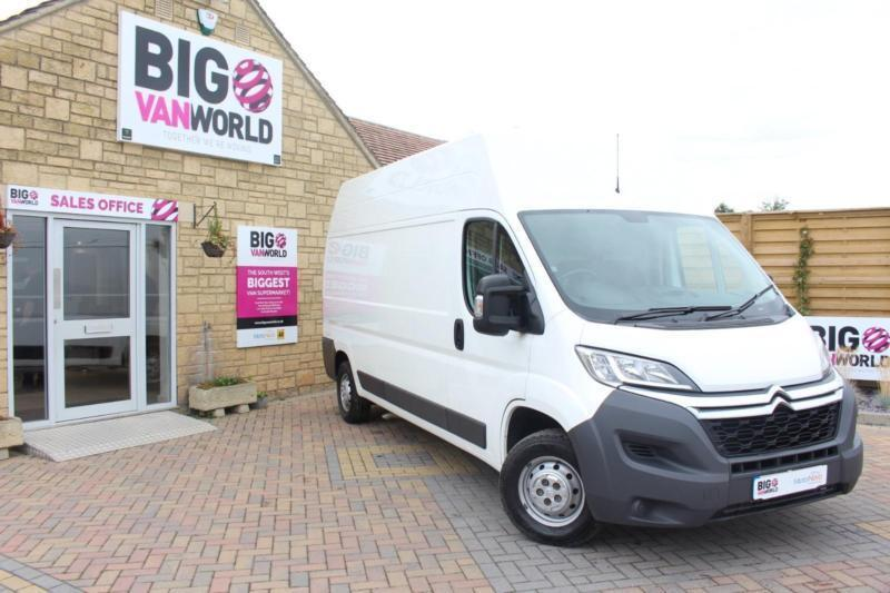2015 CITROEN RELAY 35 HDI 130 L3 H3 ENTERPRISE LWB HIGH ROOF VAN LWB DIESEL