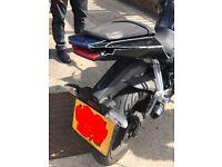 Yamaha yzf125 2014plate