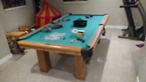 RELOCATE  SLATE POOL TABLES *FULLY INSURED *WORKMAN COMP
