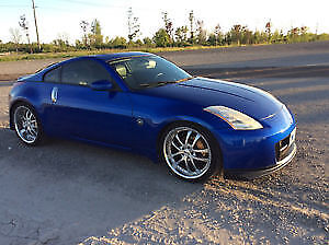 2003 Nissan 350Z White Leather Coupe (2 door)
