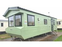 2 Bed static holiday home for sale at Regent Bay Morecambe pet friendly 12 month season