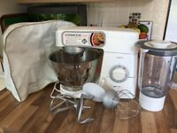 Kenwood Chef Classic Food Mixer with blender attachment