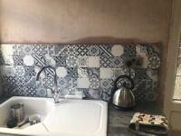 Grey ceramic mosaic tiles 4.8M2