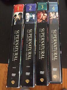 Supernatural - Seasons 1-4