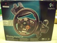 Logitech Driving Force GT Driving Wheel for PS3
