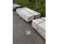 Concrete Gravel Boards / Plinths for Fencing - Fencing Materials