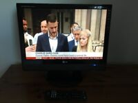 Cracking wee 19 inch HDMI LG LCD TV in good condition