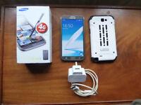 Samsung Galaxy Note 2 GT-N7105 4G Phone 16GB UK Titanium Grey