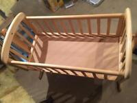 John Lewis Anna Swinging Crib/Glider