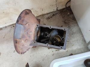 Early Ford flathead transmission