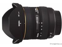 Sigma 10-20mm f/4-5.6 EX DC HSM (Nikon Fit) Lens