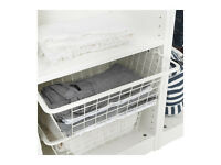 IKEA Pax Wardrobe - Komplement Wire Baskets (35cm x 50cm)
