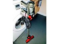 Bagless Stick Red Vacuum Cleaner Handheld Lightweight Portable Corded Vac Cost £50 Used Once