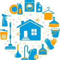 Offering cleaning services FULL TIME
