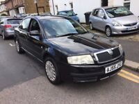 SKODA SUPERB 1.9 TDI PD DIESEL BLACK MOT HISTORY 2 OWNERS PREVIOUS LADY OWNER HPI CLEAR