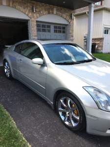 2003 Infiniti G35 Coupe 6MT (Premium, Aero and Navigation)