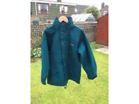 BERGHAUS GORE-TEX LADIES GREEN JACKET, SIZE 12, UNUSED CONDITION