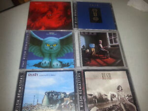 7 MINT RUSH remastered cds
