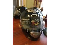 Box BX-1 Full Face Motorcycle Helmet Black