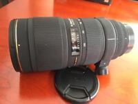 Sigma 70-200mm f2.8 APO EX HSM Macro lens Nikon mount