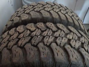 Ford F250 Winter Tires with Steel Rims