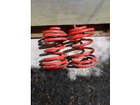 Lowering spring's for Renault Clio
