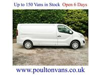 2016 (65) VAUXHALL VIVARO 2900 SPORTIVE L2H1 LWB LOW ROOF PANEL VAN, Medium