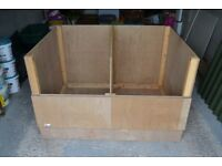 Handmade Poultry Brooder Easily Flatpacked For Storage