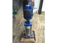 Lowara Vertical Multi-Stage Water Pump New