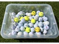 125 Used Golf Balls COLLECT LEEDS