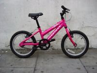 Kids Bike,Ridgeback, Pink, 16 inch Wheels are Great for Kids 5+ years,JUST SERVICED/ CHEAP PRICE!!!!