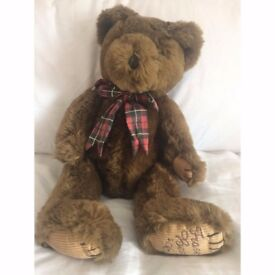 Brown bear from House of Fraser