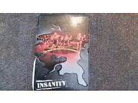 Insanity fitness dvd program with all 10 dvds