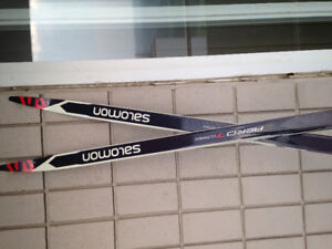 Brand New Salomon Cross Country Skis and Poles for sale!!