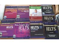 Practice for IELTS exam: 9 most recent, popular books with Answers and Audio CD