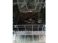 SMEG stainless steel dishwasher.Full size 60cm, Excellent condition, very clean. Delivery