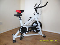 HOME EXERCISE BIKE/CYCLE, GYM MAGNETIC TRAINER CARDIO FITNESS WORKOUT PRO MACHINE