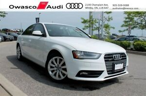 2014 Audi A4 Tiptronic quattro Komfort w/ Glass Sunroof