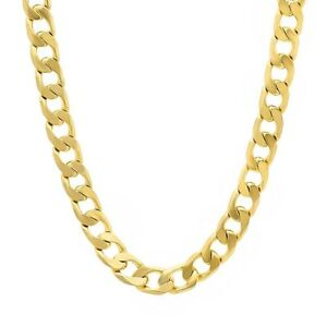 """GOLD filled Cuban Link Chain Necklace Jewelry 24"""" long - BLING"""