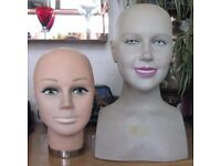 Heavy duty display heads for sale Two different styles